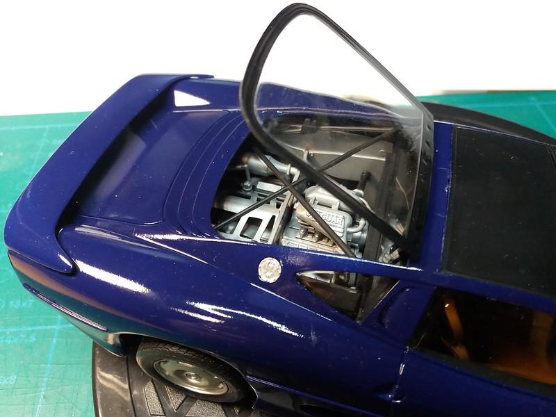 Pas-à-pas : Jaguar XJ 220 [Revell 1/24] *** Terminé en pg 5 - Page 5 50650082732_34c4fded71_c