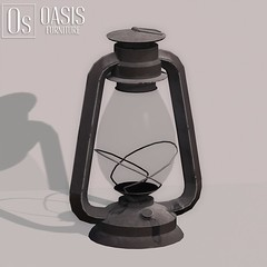 Oasis: Old Kerosene Lamp