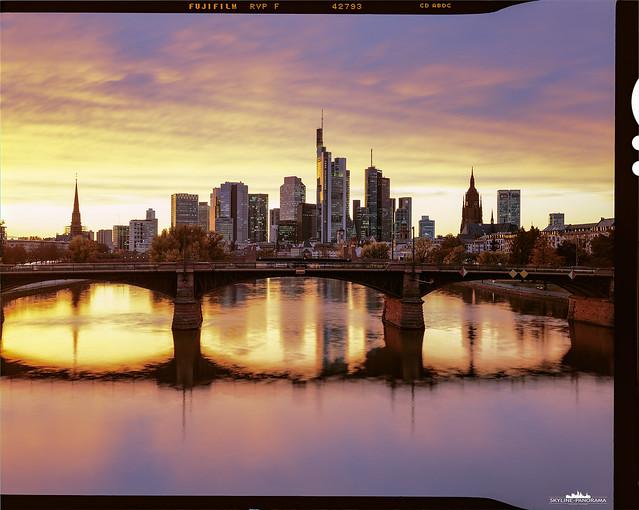 Skyline Frankfurt Sunset