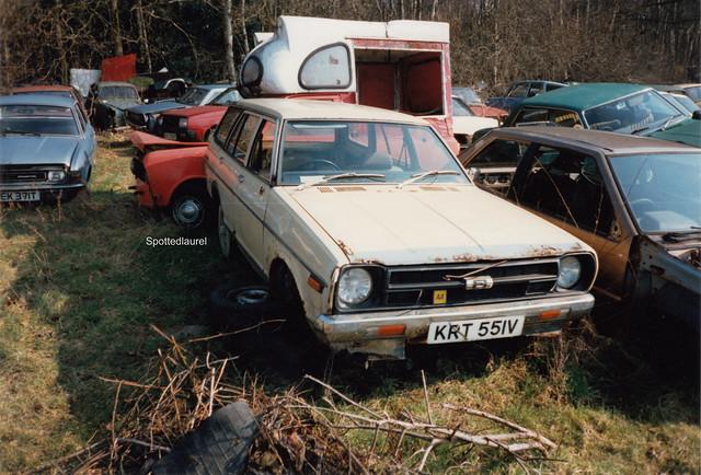1980 Datsun Sunny 1.2 estate KRT 551V c.1996
