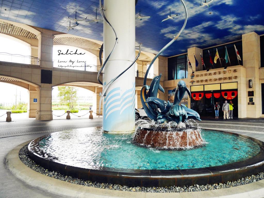 新北淡水福容飯店漁人碼頭店不限時咖啡廳下午茶野餐風淡海輕軌旅行好吃好喝 (2)