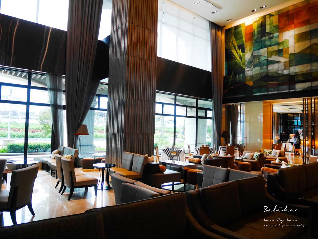 新北淡水福容飯店漁人碼頭店不限時咖啡廳下午茶野餐風淡海輕軌旅行好吃好喝 (4)
