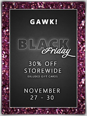 GAWK! Black Friday 2020