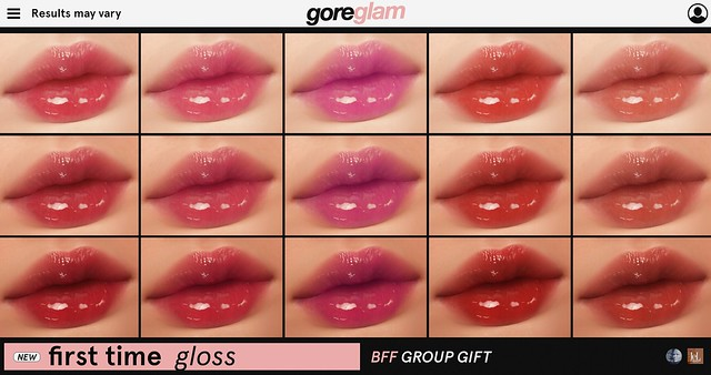 GROUP GIFT 'First Time' Gloss @ MAINSTORE