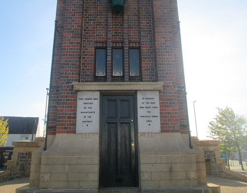 Dedication, Coalville War Memorial