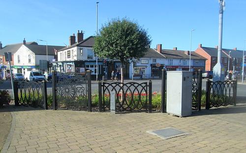Coalville War Memorial Fence