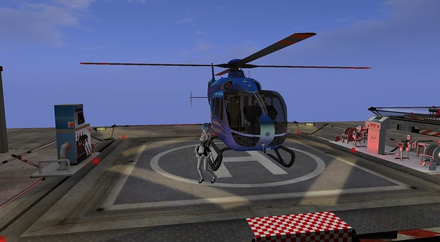 Dancing Rem with Helicopter