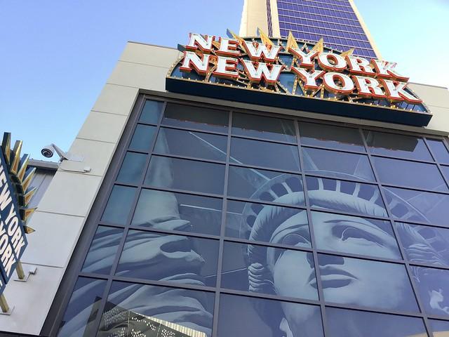Living Las Vegas Manhattan Style — Sunday/Day One — The New York-New York Hotel & Casino — Coronavirus Las Vegas 2020