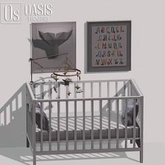 Oasis: Crib & Baby Mobile Set