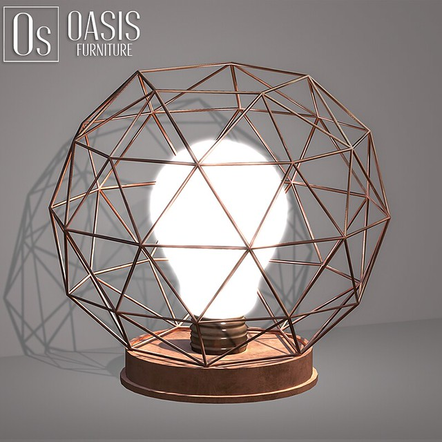 Oasis: Copper Wire Lamp
