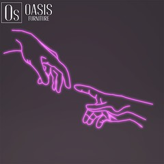 Oasis: 'Hand Of God' Neon sign