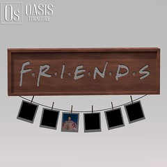 "Oasis: ""Friends"" Photo Frame"
