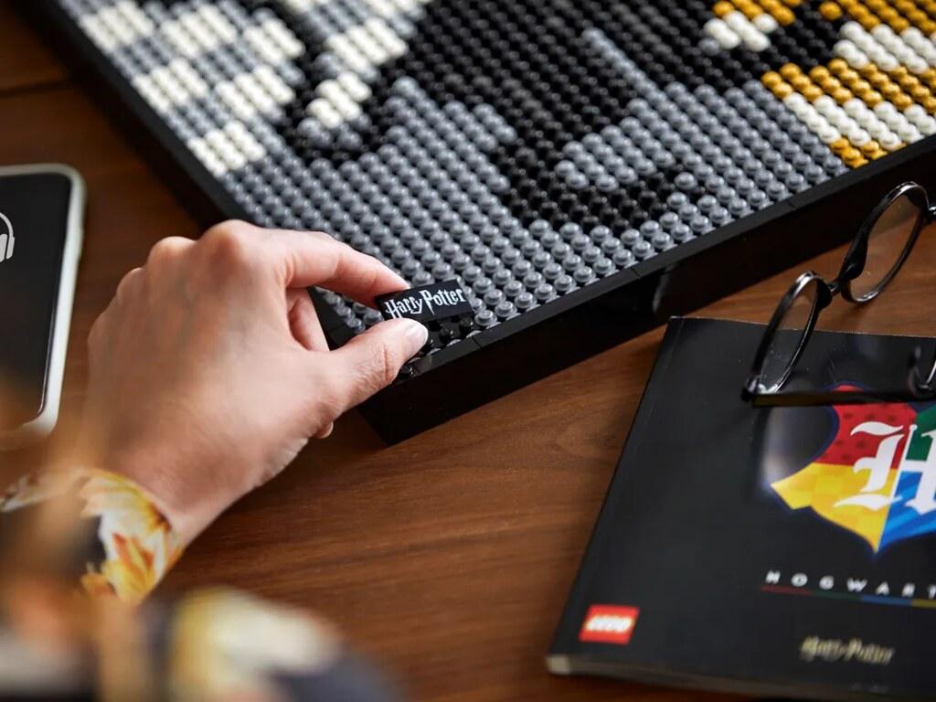 LEGO 31201《哈利波特》霍格華茲學院徽章(Hogwarts Crests)又在逼人買四盒啦!!