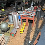 N Scale Railway Model Structure