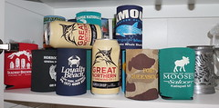 Great Northern beer and a few stubby holders