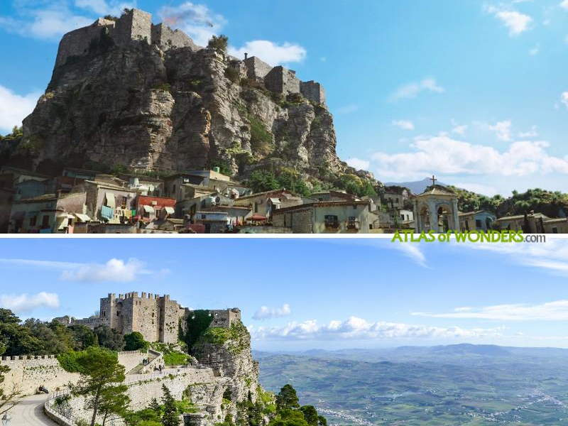 Where in Sicily was Aquaman filmed