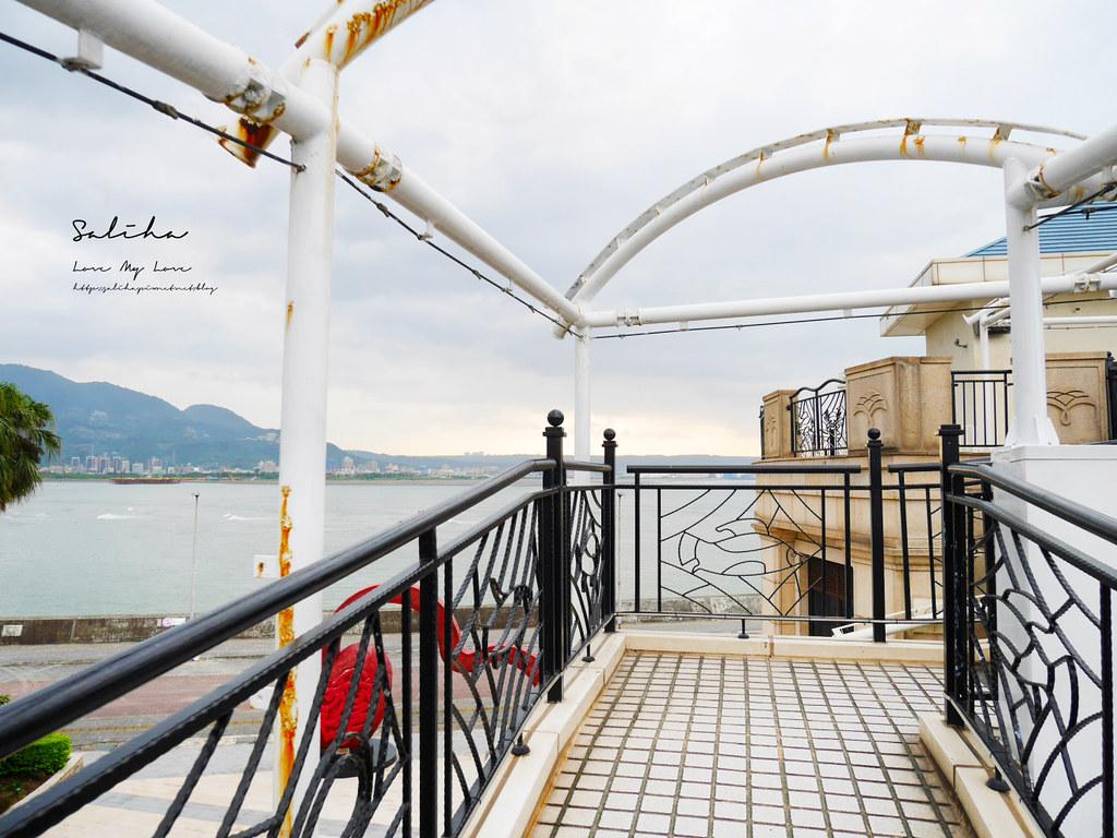 淡水一日遊景點推薦漁人碼頭福容大飯店情人塔優惠票價淡海輕軌藍海線旅行 (7)