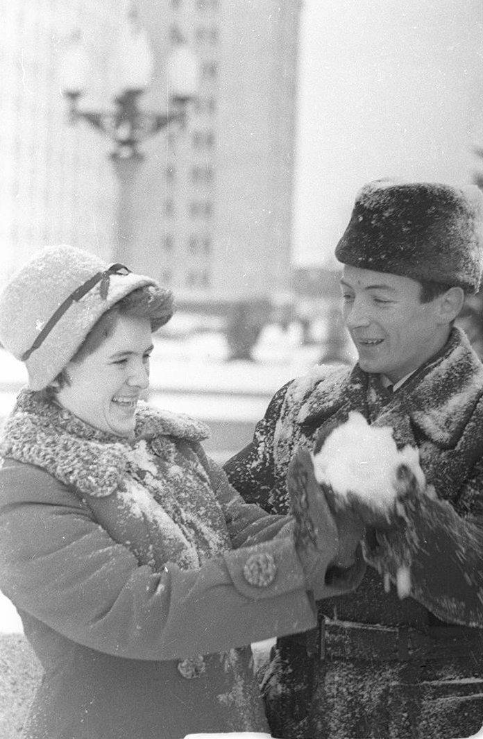 1950-е. Юность. Шалости. Университетская площадь