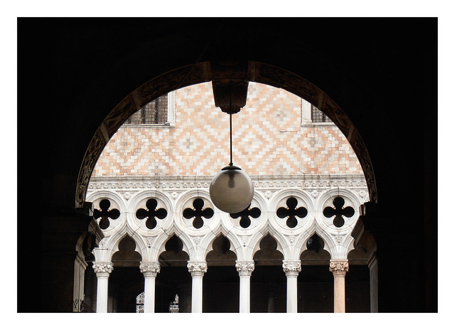 Arches at the Doge's Palace