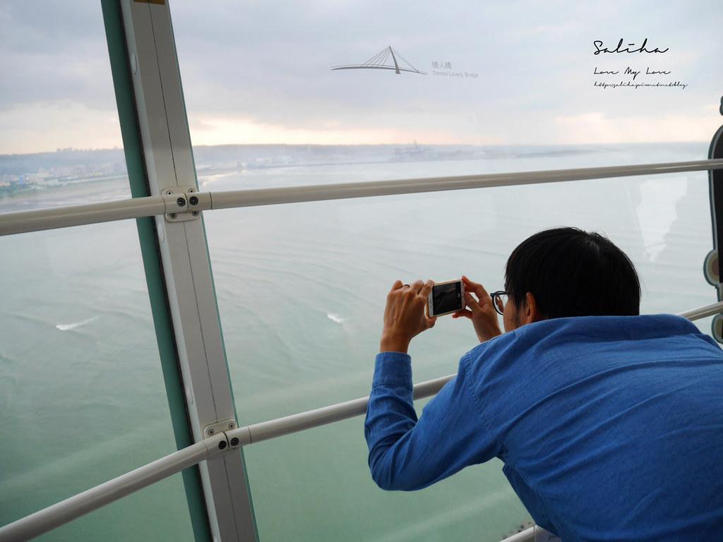 淡水一日遊景點推薦漁人碼頭福容大飯店情人塔優惠票價淡海輕軌藍海線旅行 (15)