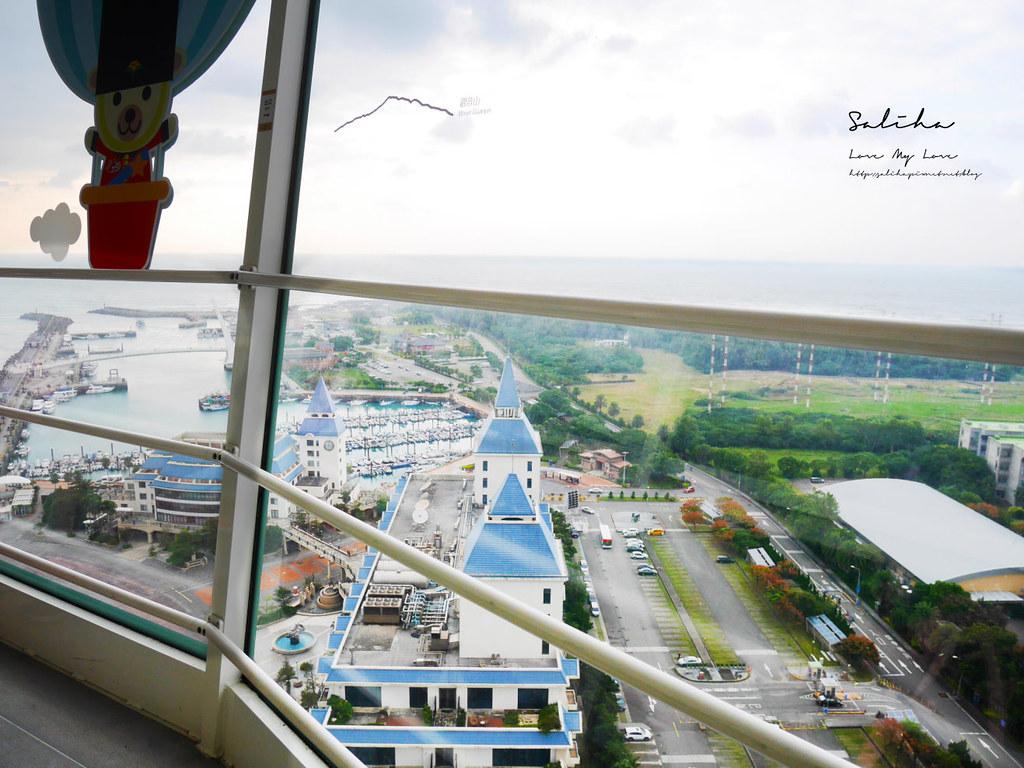 淡水一日遊景點推薦漁人碼頭福容大飯店情人塔優惠票價淡海輕軌藍海線旅行 (12)