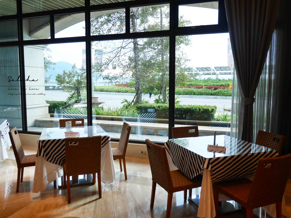 新北淡水福容飯店漁人碼頭店不限時咖啡廳下午茶野餐風淡海輕軌旅行好吃好喝 (5)