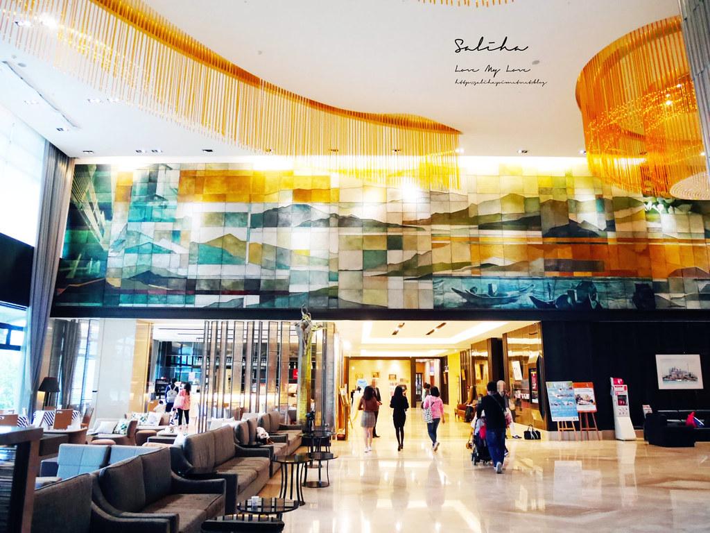 新北淡水福容飯店漁人碼頭店不限時咖啡廳下午茶野餐風淡海輕軌旅行好吃好喝 (3)