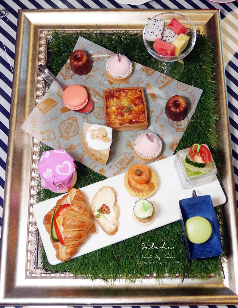 新北淡水福容飯店漁人碼頭店不限時咖啡廳下午茶好吃甜點蛋糕下午茶ig拍照打卡推薦 (1)