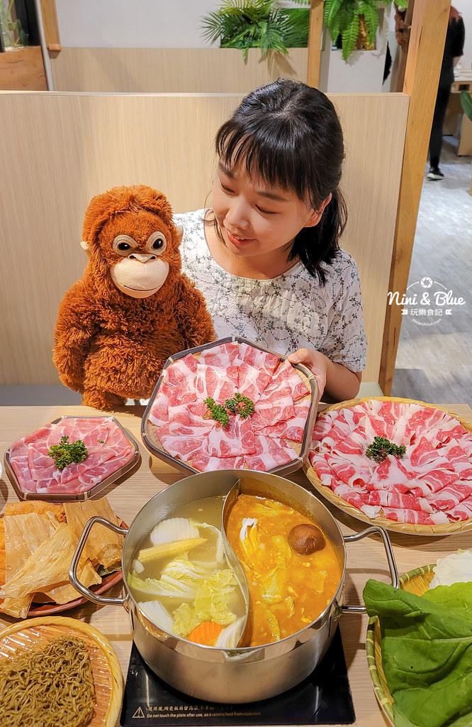 鍋泰山 台中泰式火鍋 崇德路 菜單01