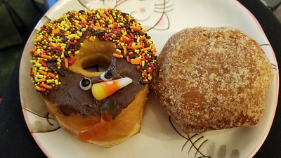 Turkey Day Doughnuts