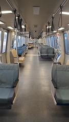 Near-empty BART :light_rail: - Turkey Day SF Tour 2020
