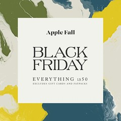Black Friday at Apple Fall
