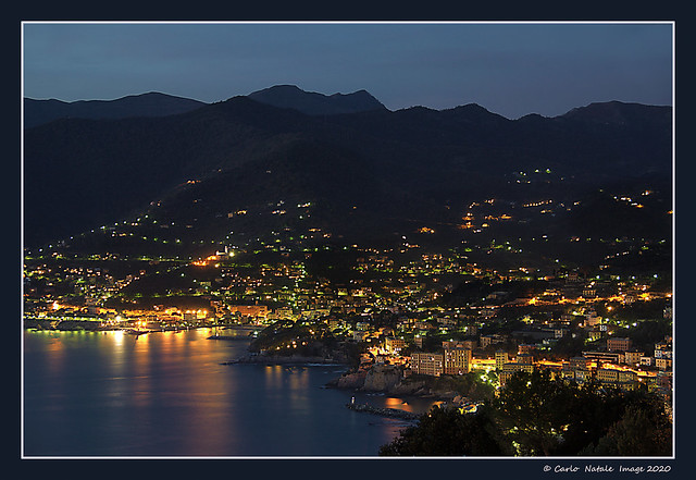 Liguria by night