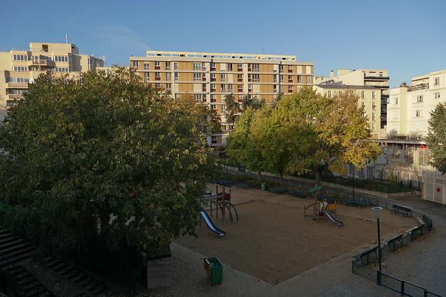 Square de la Roquette - Paris (France)