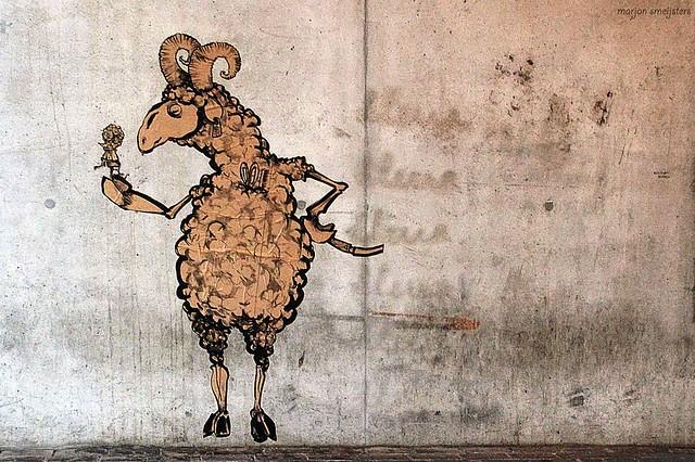 'Negative Space', Street Art, Ghent, Belgium