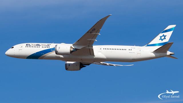 TLV - El Al Boeing 787-9 4X-EDK