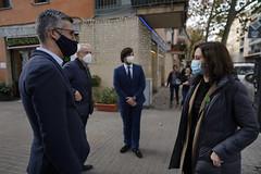 Díaz Ayuso traslada a los hosteleros catalanes las medidas antiCOVID-19 que han permitido mantener abierta la restauración en Madrid