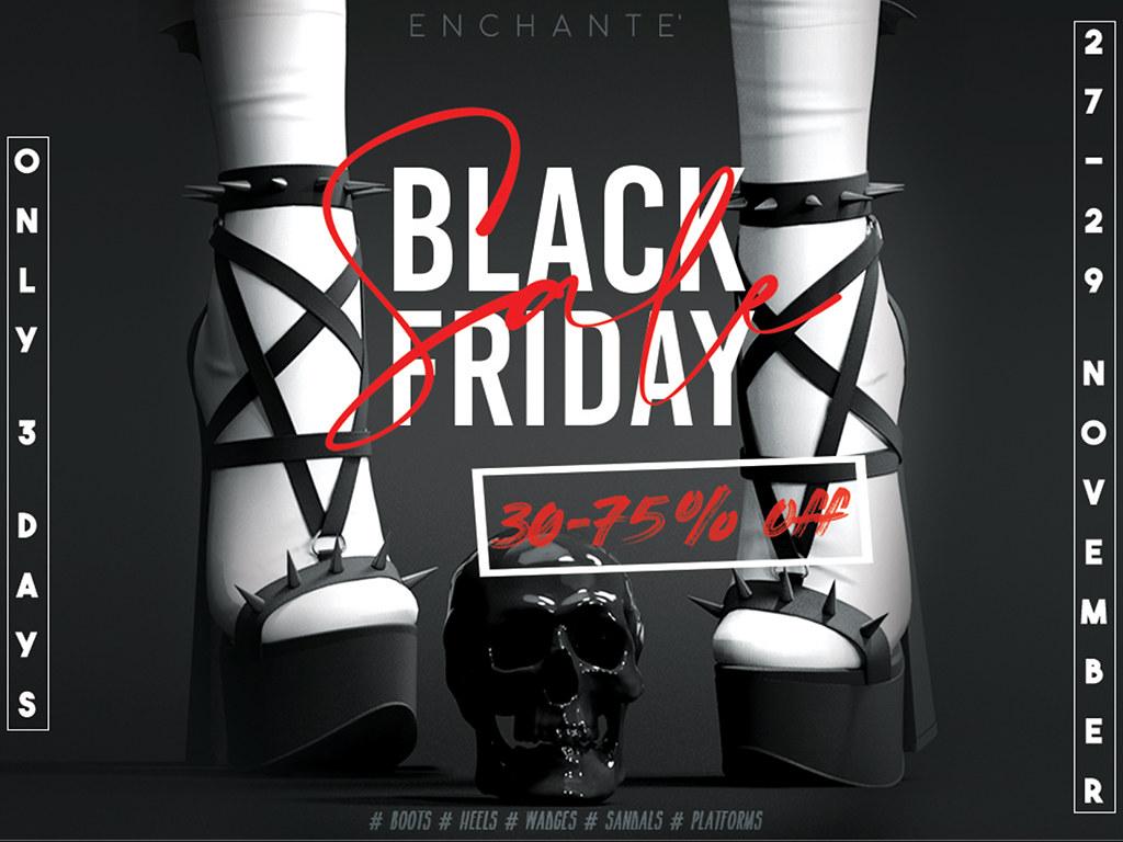 Enchante' x Black Friday