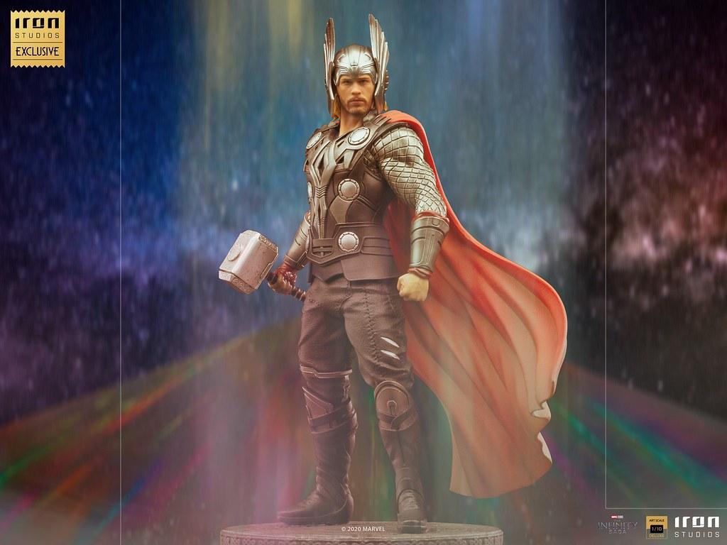 Iron Studios Art Scale系列 MCU Infinity Saga【雷神索爾】1/10比例全身雕像【CCXP WORLDS限定】