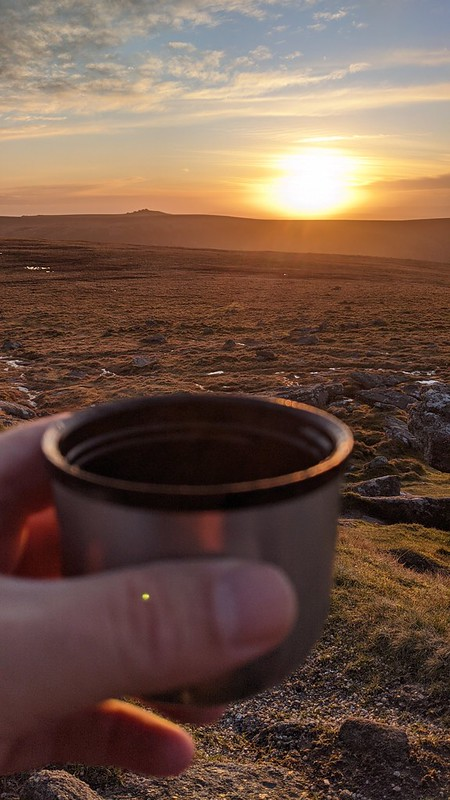 Sunset from Yes Tor