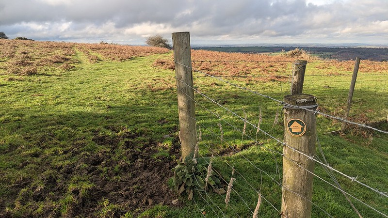 Public Footpath on East Hill