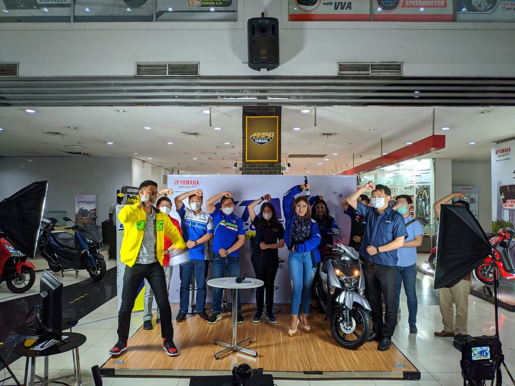 Virtual Launching Yamaha Gear 125