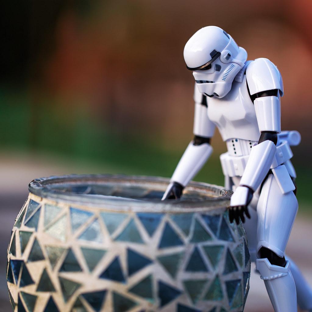 Stormtrooper et source d
