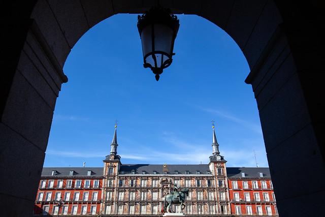 Madrid Framed