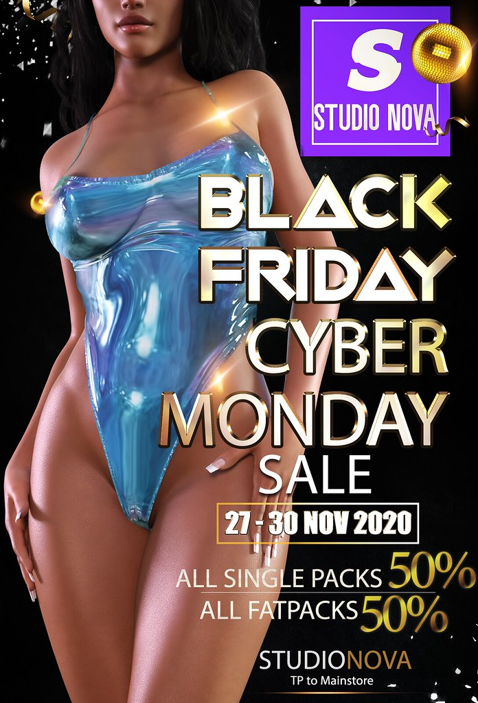 [StudioNova] Black Friday/Cyber Monday 2020 SALE !!