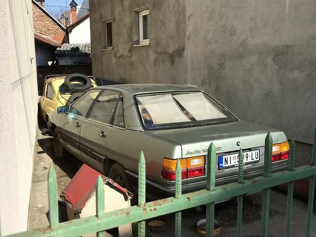 1980s Zastava 750 & 1987 Audi 100