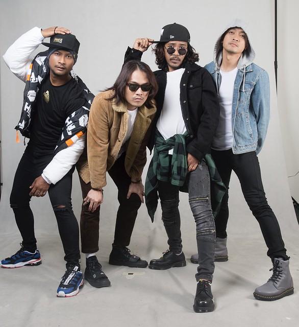 Akim Ahmad, Hazama, Black Hanifah & Tomok Bergabung dalam Lagu SUARA LICIK