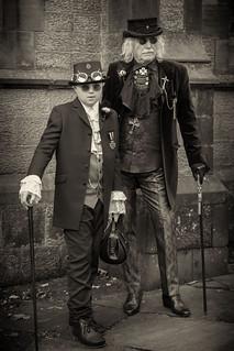 Portrait from Haworth Steampunk Weekend 2020