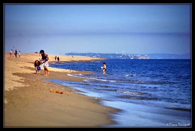 Dernière belle journée de plage fin octobre