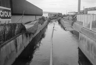 Pymmes Brook,  Edmonton, 1983 37c-55_2400